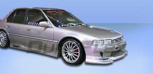 Duraflex Replacement for 1990-1993 Honda Accord 4DR Spyder Side Skirts Rocker Panels - 2 Piece