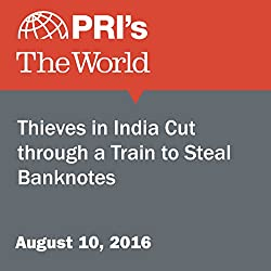 Thieves in India Cut through a Train to Steal Banknotes