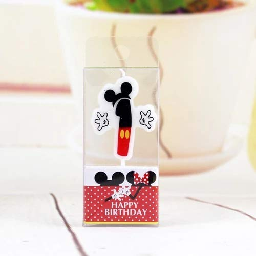 KimokaCake Birthday Candle Mickey Minnie Candle 0 4 5 7 8 Anniversary 6 Cake 9 Numbers Candle Party Decoration Age LUHONGPARTY Supplies]()
