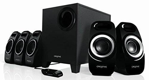 Creative Inspire T6300 51MF4115AA002 5.1 Channel 22 Watt Subwoofer Speaker System  ()