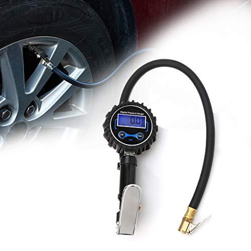 Autones Tire Pressure Gauge Meter,Car Digital LCD Display Tire Pressure Gauge Meter Manometer Air Inflator Tool