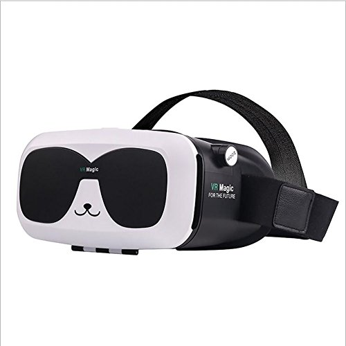 Fei VR Glasses 3D Glasses HD Virtual Reality 3D Virtual Reality 3D Movie Video Game Private Theater Cinema, See Model Car Show, Football Match (Color : B) by Fei