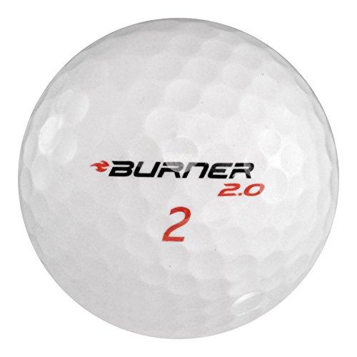 100 Taylormade Burner – 値(AAA) グレード – リサイクル(used) ゴルフボール B074Q99G4G