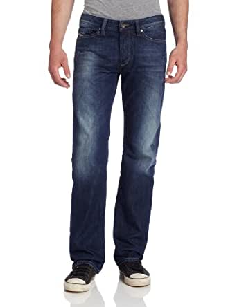 Diesel Men's Viker Regular Straight Leg Jean 0806L, Denim, 28x30