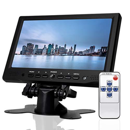 7 inch Monitor HD 1080P VGA Monitor ; Small HDMI Screen Server Monitor for PC/TV/Raspberry PI/Camera ; IPS 1024×600…