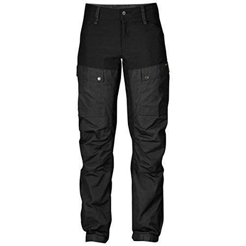 Black Fjallraven Womens Keb Trousers Short 38