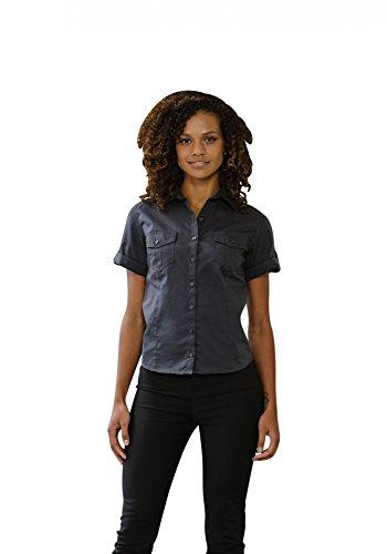 Russell Collection - Camisas - Manga corta - para mujer negro