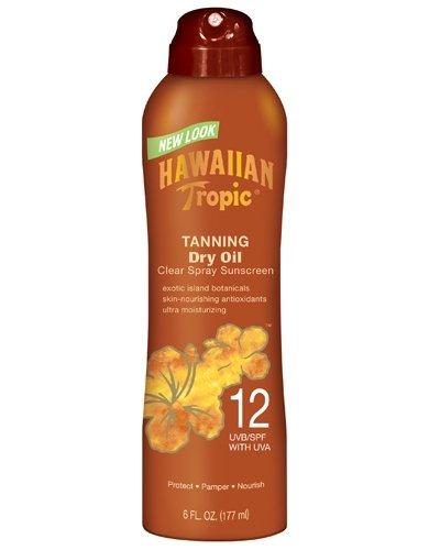 Hawaiian Tropic Tanning Clear Sunscreen 6