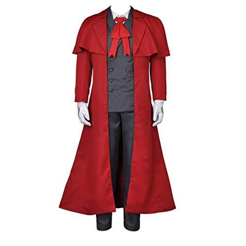 Cosfun Hellsing Alucard Cosplay Costume mp000443