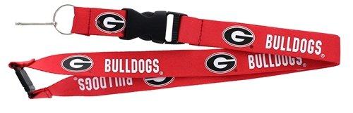 aminco NCAA Georgia Bulldogs Team Lanyard