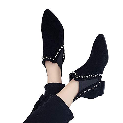 Tacco scarpe Spesso Tacchi Ragazza Tacco Ragazza Tacchi Stivali da Singole Autunno   e0fb51
