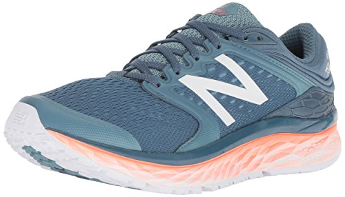 New Balance Damen 1080v8 Laufschuhe Petrol / Orange