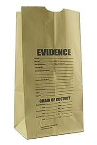 Crime Scene Paper Evidence Bags (Medium)