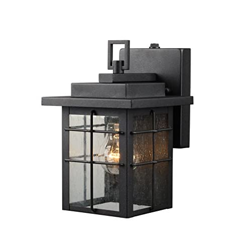 Wholesale Hardware House 21-2359 Square Lantern w/Photo Cell, Black Finish - One Light hot sale