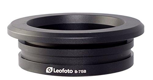LEOFOTO B-75B 75mm Bowl Adapter for LN-404C Systematic Tripod