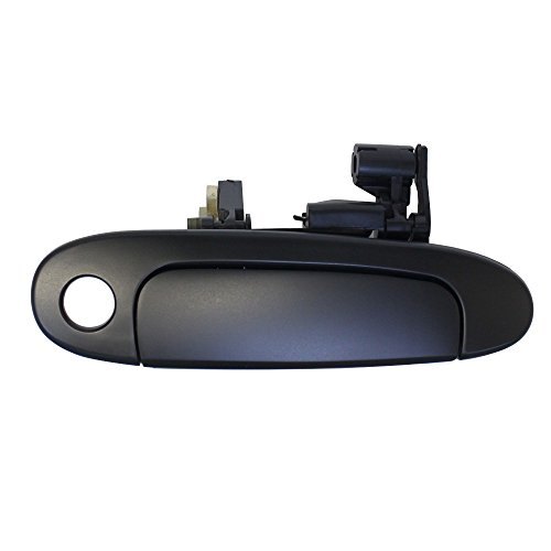 Price comparison product image Titanium Plus 2000-2005 Toyota Echo Front, Right Passenger Side DOOR OUTER HANDLE SMOOTH PLASTIC BLACK