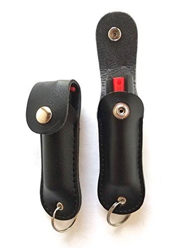 POLICE MAGNUM 2 Pepper Spray 1/2oz Safety Lock Self Defense Police Strength Practice INERT Spray Black Keychain Holster Review