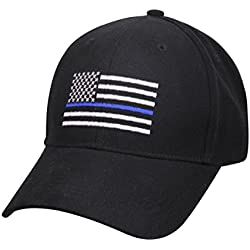 a882f6f6a23 Support Police Sheriff Law Enforcement THIN BLUE LINE Hat Cap Low Profile.  amazon.com