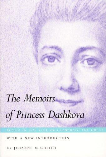 The Memoirs of Princess Dashkova