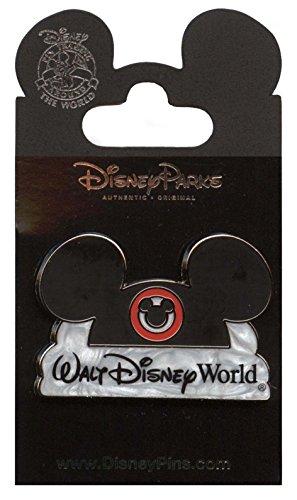 (Disney Pin - Walt Disney World Resort Ear Hat Logo - 96128)