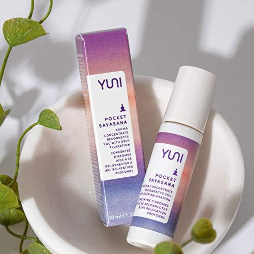 YUNI Beauty Pocket Savasana Essential Oil Roll On Balance Aroma Concentrate, 0.33 Fl Oz