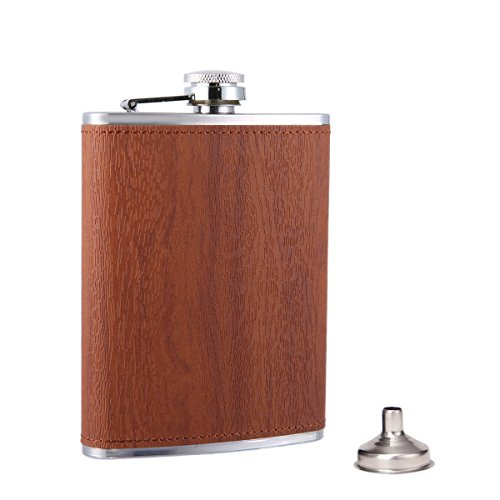 Taneaxon Grain Pattern Pocket Flask product image