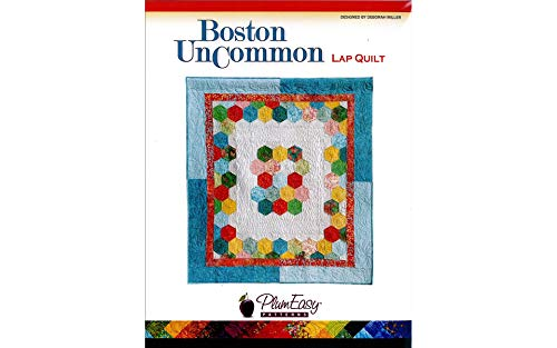 (PlumEasy Patterns Boston Uncommon Lap Quilt )