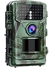 """4K 20MP Trail Camera CAMBASE Game Wildlife Camera with 120° Monitoring Night Vision Motion Activated Hunting Cam 2.0"""" LCD IP56 Waterproof"""