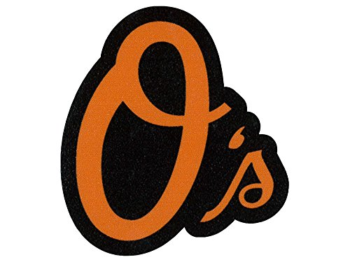 MLB Baltimore Orioles 49382011 Perfect Cut Color Decal, 4