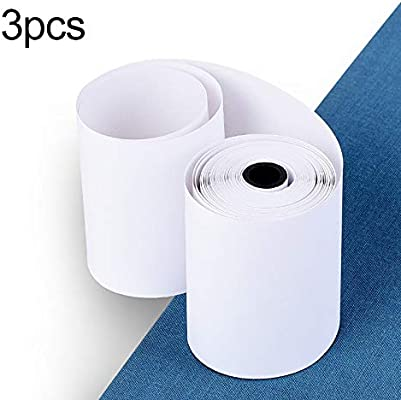 3 Rolls/SET 57X30MM Durable Printable Sticker Paper Direct Thermal