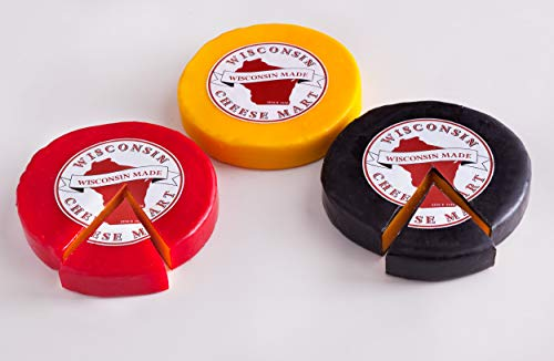 (Wisconsin Cheddar Cheese Wheel Variety Pack)