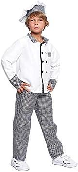 Disfraz Cocinero niño Infantil para Carnaval (5-6 años) (+ Tallas ...
