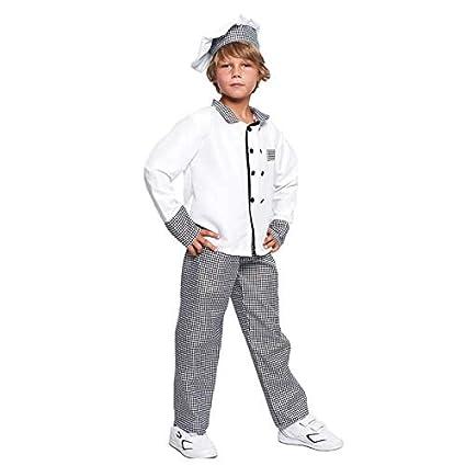 Disfraz Cocinero niño Infantil para Carnaval (5-6 años) (+ ...