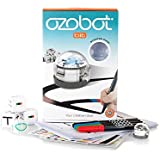 Ozobot 2.0 Bit Starter Pack, the Smart Robot Toy that Teaches Coding and Inspires Creativity, Crystal White