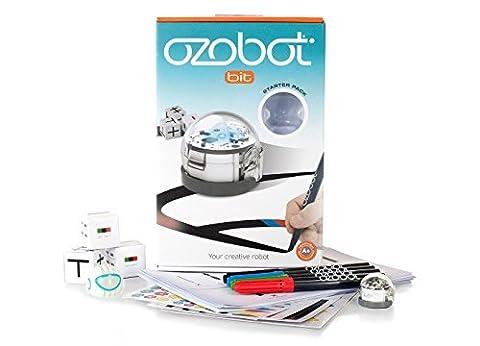 Ozobot Bit 2.0 Starter Pack, White - Optical Sensor Line