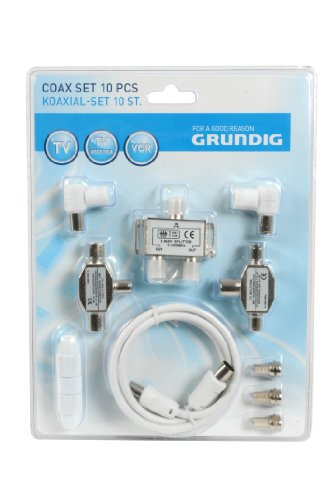 Grundig 92322 Digital Coax Set (10 teilig)