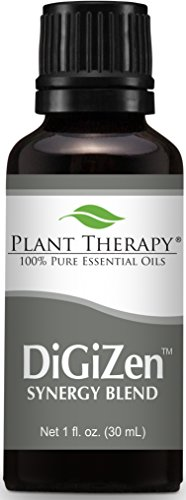 (Plant Therapy DiGiZen (formerly Digest Aid Synergy) Essential Oil Blend. 100% Pure, Undiluted, Therapeutic Grade. 30 mL (1 Ounce).)