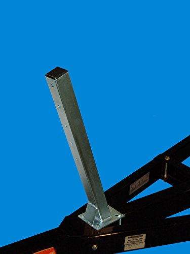 - VE-VE Inc. Winch Stand Post ONLY (Galvanized Finish)