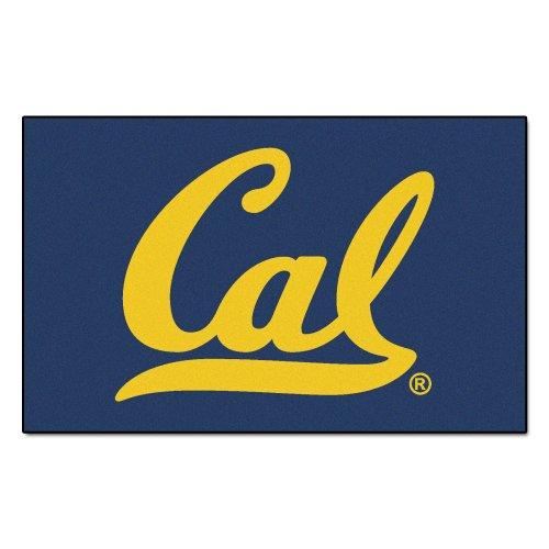 FANMATS NCAA Univ of California Berkeley Golden Bears Nylon Face Ultimat Rug (Berkeley Ulti Mat)