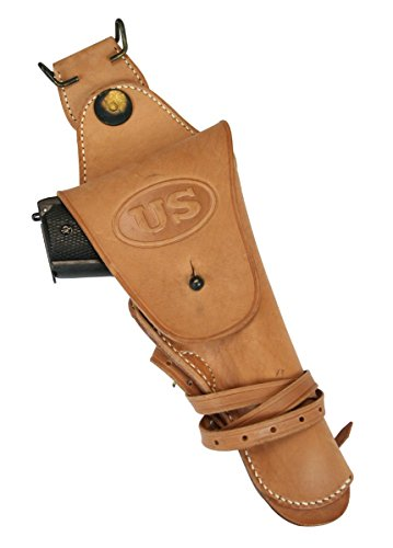 Historical Emporium Men's Leather 1912 Replica Colt 1911 Holster (1912 Halloween Costumes)
