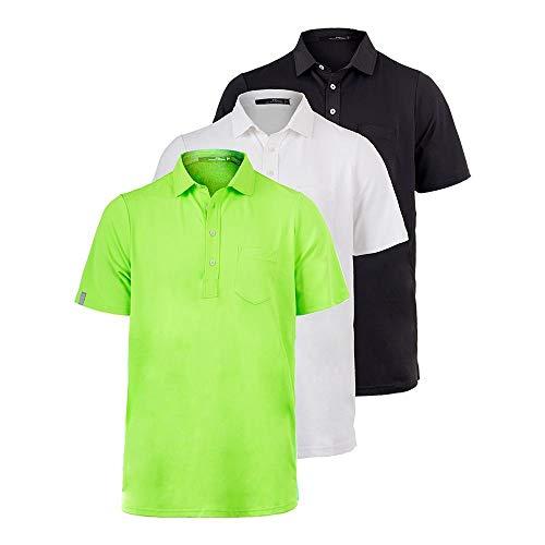 (Polo Ralph Lauren Men`s Tech Pique Polo (Small Neon Lime))