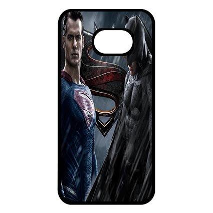 Wonderful Phone Back Skin Case For Samsung Galaxy S7 EDGE With Batman VS Superman (Samsung Galaxy S7 Vs Samsung Galaxy S7 Edge)