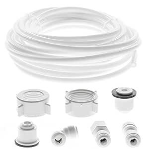Tubo de suministro de agua Spares2go + kit de conector para ...