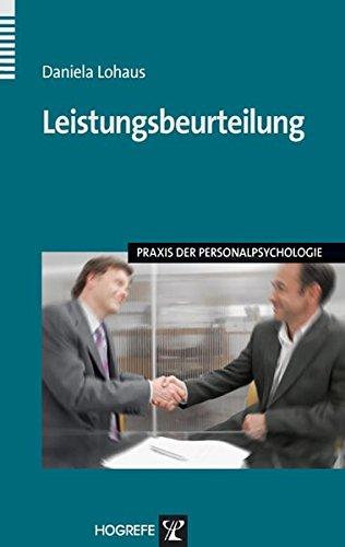 Leistungsbeurteilung (Praxis der Personalpsychologie, Band 18)