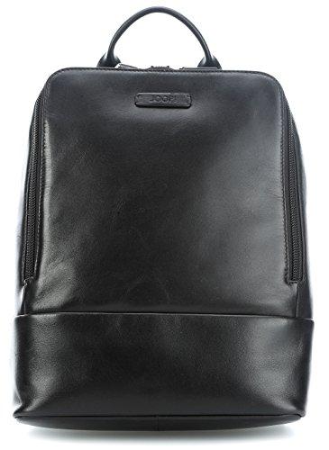 Joop! Vetra Business Rucksack Leder 39 cm Laptopfach Black