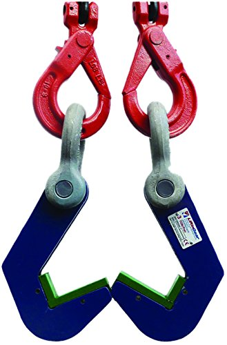 2 Ton 150MM Blue Painted Double Sheave Snatch Block with Swivel Hook