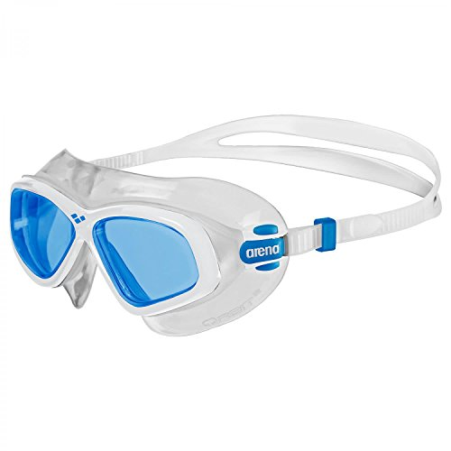 Arena Orbit 2 Masque de Natation Mixte Bleu/Blanc