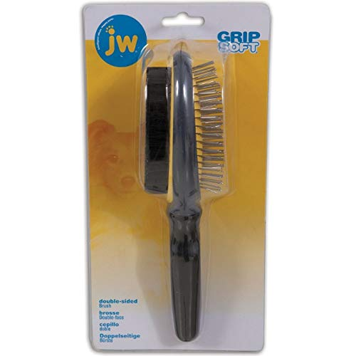 - JW Pet Company GripSoft Double Sided Brush Dog Brush
