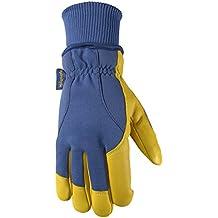 Men's HydraHyde Winter Gloves, Very Warm 100-gram Thinsulate, Grain Goatskin, XX-Large (Wells Lamont 1206XX)