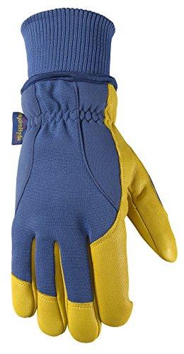 Men's HydraHyde Winter Gloves, Very Warm 100-gram Thinsulate, Grain Goatskin, X-Large (Wells Lamont 1206XL) (Lamont Wells Grain)